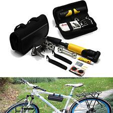 Bicicleta Bici Portátil Ciclismo Kit De Reparación De Neumáticos
