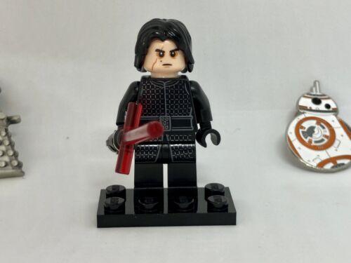 LEGO STAR WARS 75196 KYLO REN Minifigure Cross Hilt Red Lightsaber!