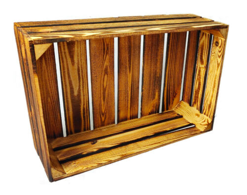 NEW Fashion Fruit Crates Solid Sturdy Wooden Boxes Wine Boxes Wooden Boxes
