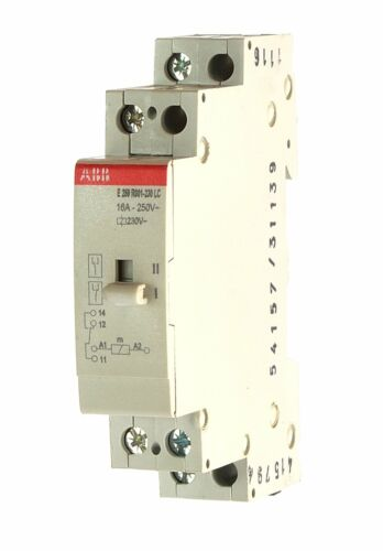 ABB e259r001-230-lc installation relais 2csm115002r0401