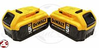 Dewalt Max 20v Premium 5.0ah Xr Dcb205 Lithium Ion Dcb205-2 Batteries Packs