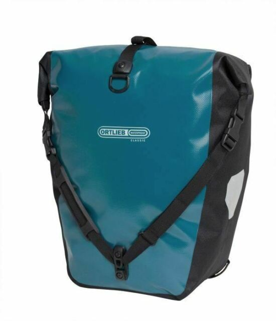 Ortlieb Back-Roller Classic Bike Bicycle Pannier - Petrol Blue
