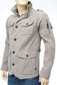 Veste-Parka-GAASTRA-homme-beige-enduit-impermeable-EDWARD-STONE-taille-M