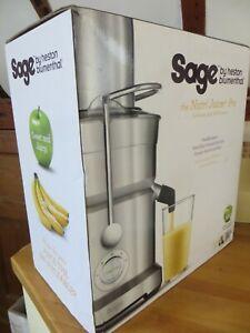 Sage By Heston Blumenthal BJE820UK The Nutri Juicer Pro Centrifugal Juicer