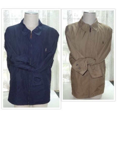 NEW Polo Ralph Lauren BIG & TALL Brand New With Tags Windbreaker Jacket