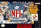 NFL Football (Super Nintendo Entertainment System, 1993)