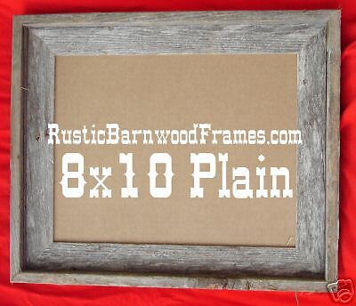 8x10 P Lot 6 rustic barnwood barn wood picture frames