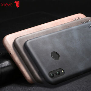Details about For Huawei Honor 8X Case PU Leather Cover Full Protection  Back Cover Case Xlevel
