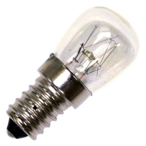 2 x 15w SES E14 Small Screw Cap 300°  Oven Light Bulb NEFF BOSH HOTPOINT