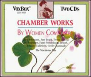 Malcalester Trio - Chamber Music By Women Composers [New CD] 2 Pack