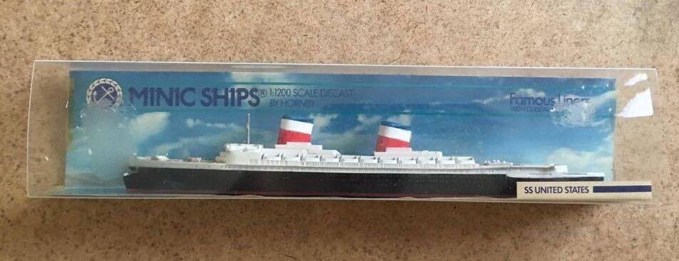 Minic Minic Minic Ships SS United States ca4918