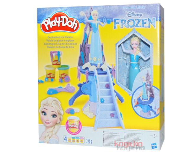 Play Doh Set De Pâte à Modeler La Reine Des Neiges Elsa Hasbro B5530 Pétrir