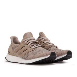 d6b54a49ffa Mens ADIDAS Ultra Boost 3.0 Running Shoes Khaki Brown Sneakers NEW ...