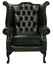 Brand-New-Chesterfield-Queen-Anne-High-Back-Wing-Chair-In-Antique-Real-Leather thumbnail 13