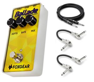 New Foxgear Ballade 80's Analog Chorus Guitar Effects Pedal