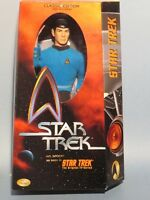 "STAR TREK MR. SPOCK 12"" DELUXE ACTION FIGURE! NM! STAR TREK 50TH ANNIVERSARY!"