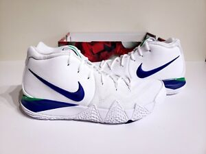 Nike Kyrie 4 Deep Royal Seattle Seahawks 943806-103 Basketball Shoes ... 41c8ca7d4083