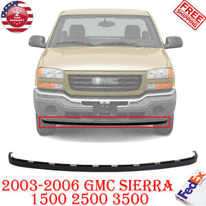Front Lower Valance Extension Textured For 2003 2006 Gmc Sierra 1500 2500 3500 Ebay