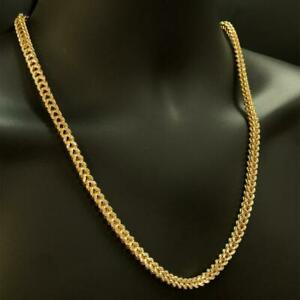 10kt Yellow Gold Diamond Cut Franco Link Chain 6mm 24 Inches 44 grams Canada Preview