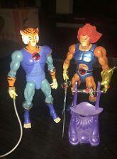 "8"" 2011 SDCC Exclusive LION-O & Tygra Thundercats figure made Bandai"