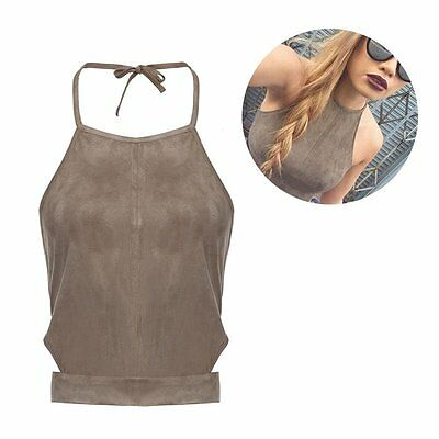 Sexy Womens Lady Bralette Bralet Bustier Crop Top Cami Tank Tops Sleeveless Vest