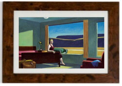 Western Motel Framed Print by Edward Hopper