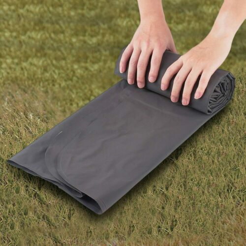 Outdoor Sleeping Pad Camping Mat With Pillow Mattress Cushion Inflatable Black