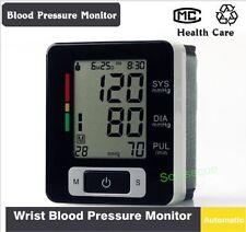 BLUTDRUCKMESSGERÄT HERZFREQUENZ-MESSGERÄT DIGITAL PUPPE Handgelenk Blut Pressure