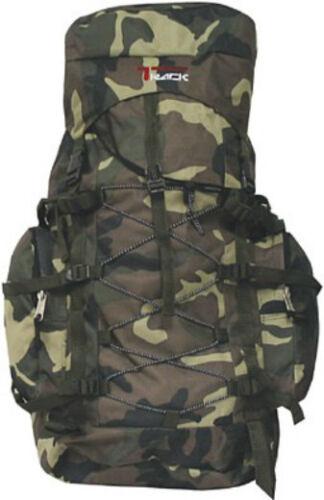 Large Camoflauge Backpack Camping 3200 Cu In Camo Hiking Rucksack Backpacking
