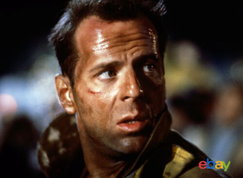 PHOTO PIEGE DE CRISTAL 11X15 CM  # 1 BRUCE WILLIS