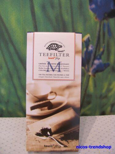"""M/"""" Filter Teesieb Teenetz Teefilter 100 Stck  Papierfilter /""""Gr"""