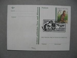 AUSTRIA, privat ill. PC FDC CTO 1994, gopher