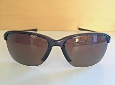 ea06ef13c5a Very Nice Oakley Polarized Unstoppable Blackberry   Brown Sunglasses 9191-03