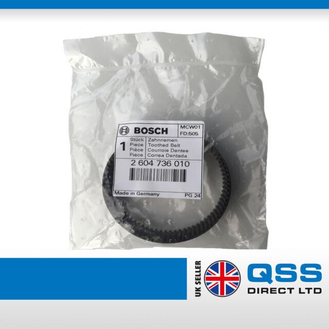 courroie dent/ée Bosch 2604736010