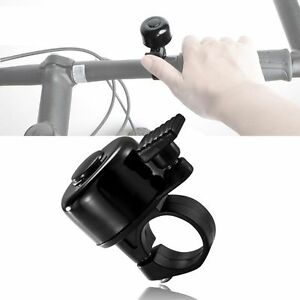 New Black Mini Bicycle Bike Cycling Handlebar Bell Horn Ring Alarm High Quality