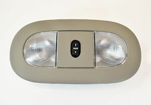 FORD-OEM-08-10-F-250-Super-Duty-Overhead-Roof-Console-Stone-8C3Z25519A70AA