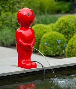 Wasserspiel-Springbrunnen-Ubbink-AcquaArte-Boy-III-rot-67cm