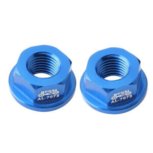 2 Pack M8 Front//Rear Hub Nuts for Kids Children Balance Bicycle Parts Black