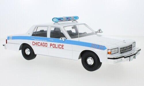 MCG 18219 CHEVROLET CAPRICE Chicago Police Dept 1987 diecast model car 1:18th