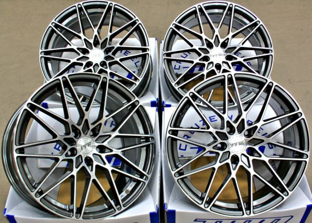 """ALLOY WHEELS X 4 19"""" CRUIZE FR1 GMP FIT FOR MERCEDES C CLASS W204 W205 2007>"""