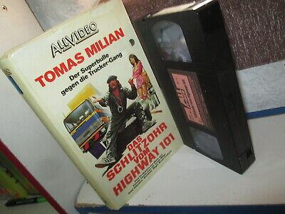 Vhs Das Schlitzohr Vom Highway 101 Der Superbulle Tomas Milian Ebay