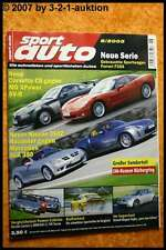Sport Auto 6/05 Corvette MG XPower Nissan 350 Z SLK 350