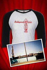 Hollywood-Star-Lanes-Big-Lebowski-Bowling-Tee-T-SHIRT-Jersey-FREE-SHIP