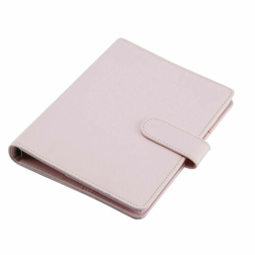 A6//A5 Macarons Loose Leaf Ring Binder Notebook Weekly Monthly Planner Diary