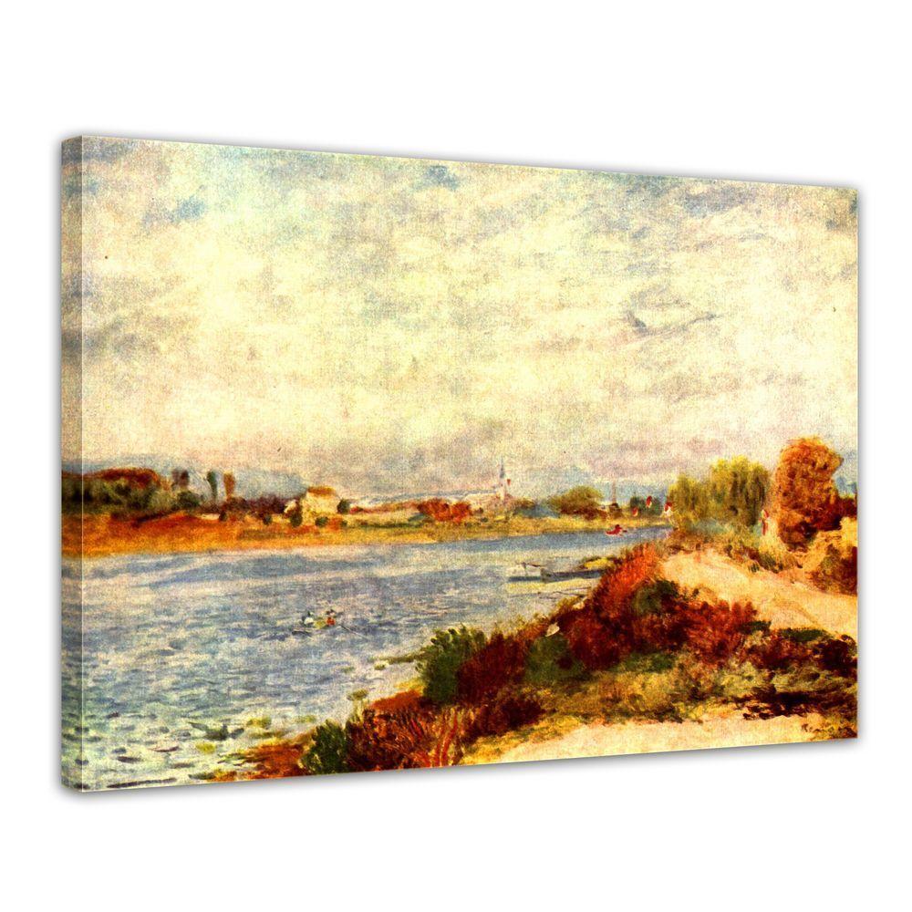 Kunstdruck - Alte Meister - Pierre-Auguste Reschwarz - Seine bei Silbereuil
