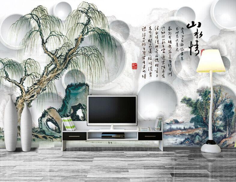 3D Landschaft Handmalerei 74 Tapete Wandgemälde Tapete Tapeten Bild Familie DE