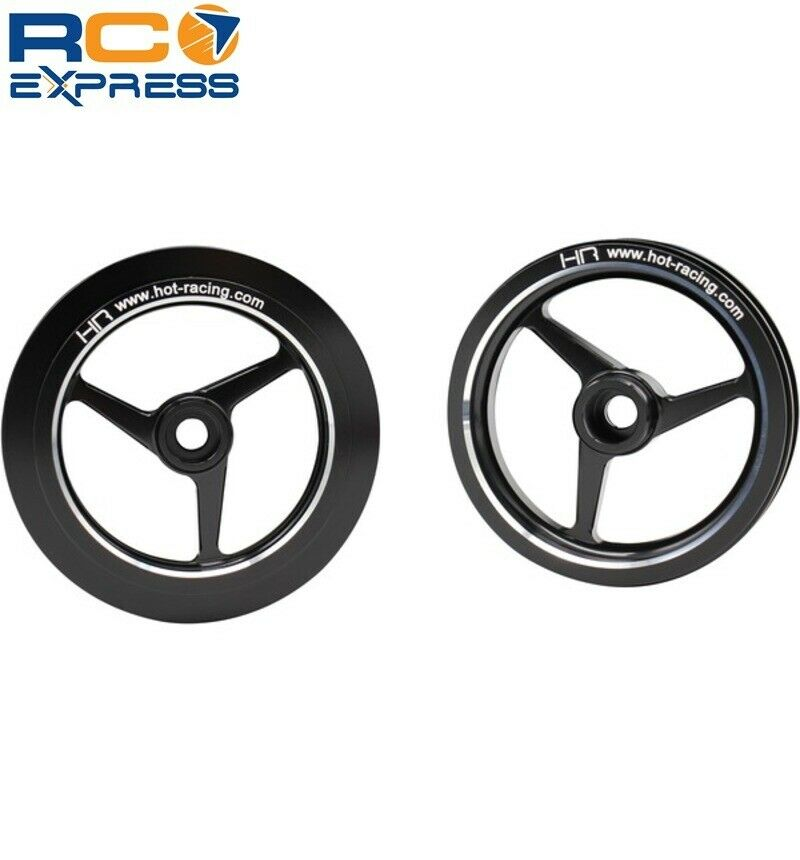 Hot Racing Kyosho 1 8 Motorcycle Aluminum 3 3 3 Spoke Wheels HOR51301 838672