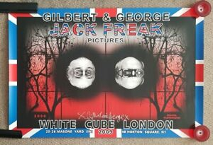 Gilbert-and-George-Jack-Freak-Pictures-School-Playground-Signed-Poster