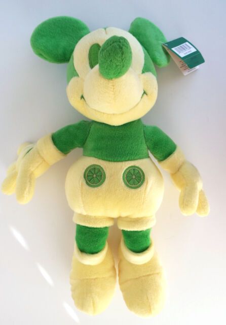 New MICKEY MOUSE Plush Green Scented Limited Edition w/ Tag
