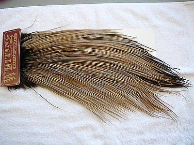 Mohair Feather Feathers Craft Saddle Hackle Floss. Fly Tying Uni-Thread